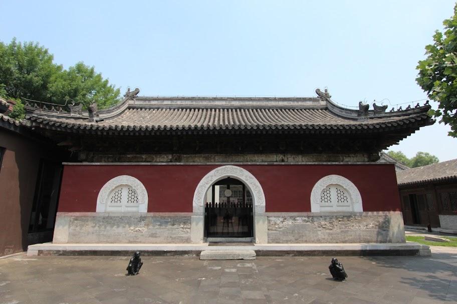 Temple Restaurant Beijing, in China