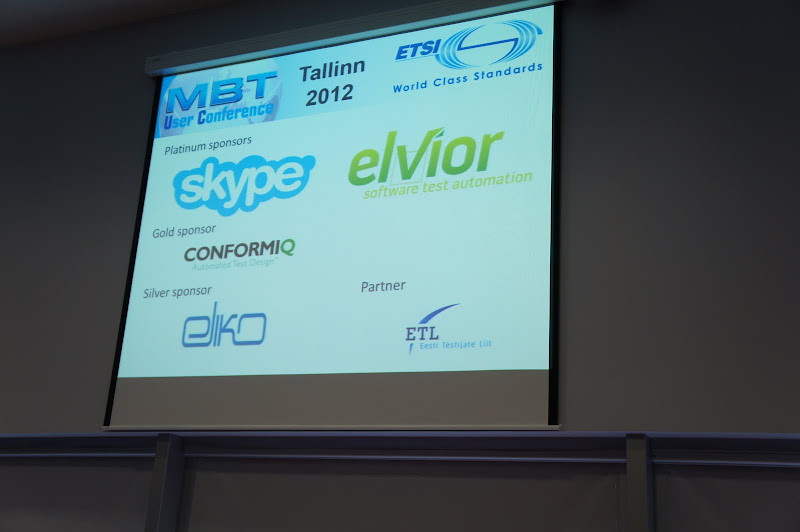 Gold Sponsors of MBT UC 2012