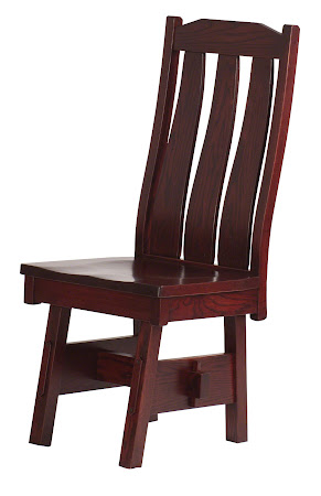 Savoy Chair In Cranberry Oak