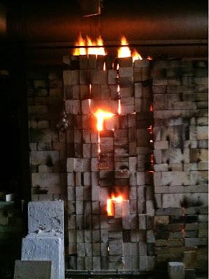 fire, kiln, ceramics, art studio, studio