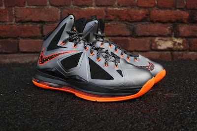 nike lebron 10 gr silver black orange 5 02 Detailed Look at Lava Nike LeBron X That Drops on Saturday
