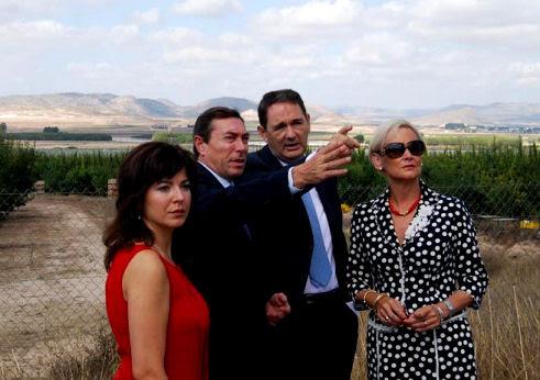 Celia Lledó y Mario Flore presentan los accesos a estación del AVE y Puerto seco