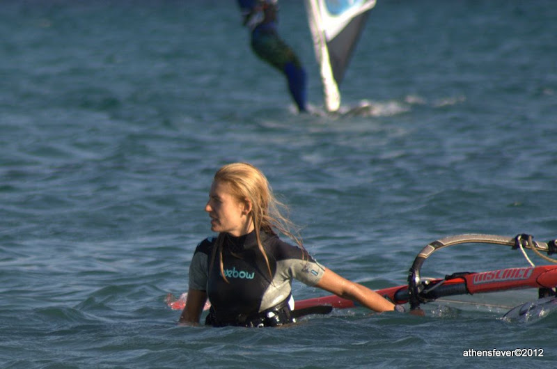 Windsurfing at Anavisos