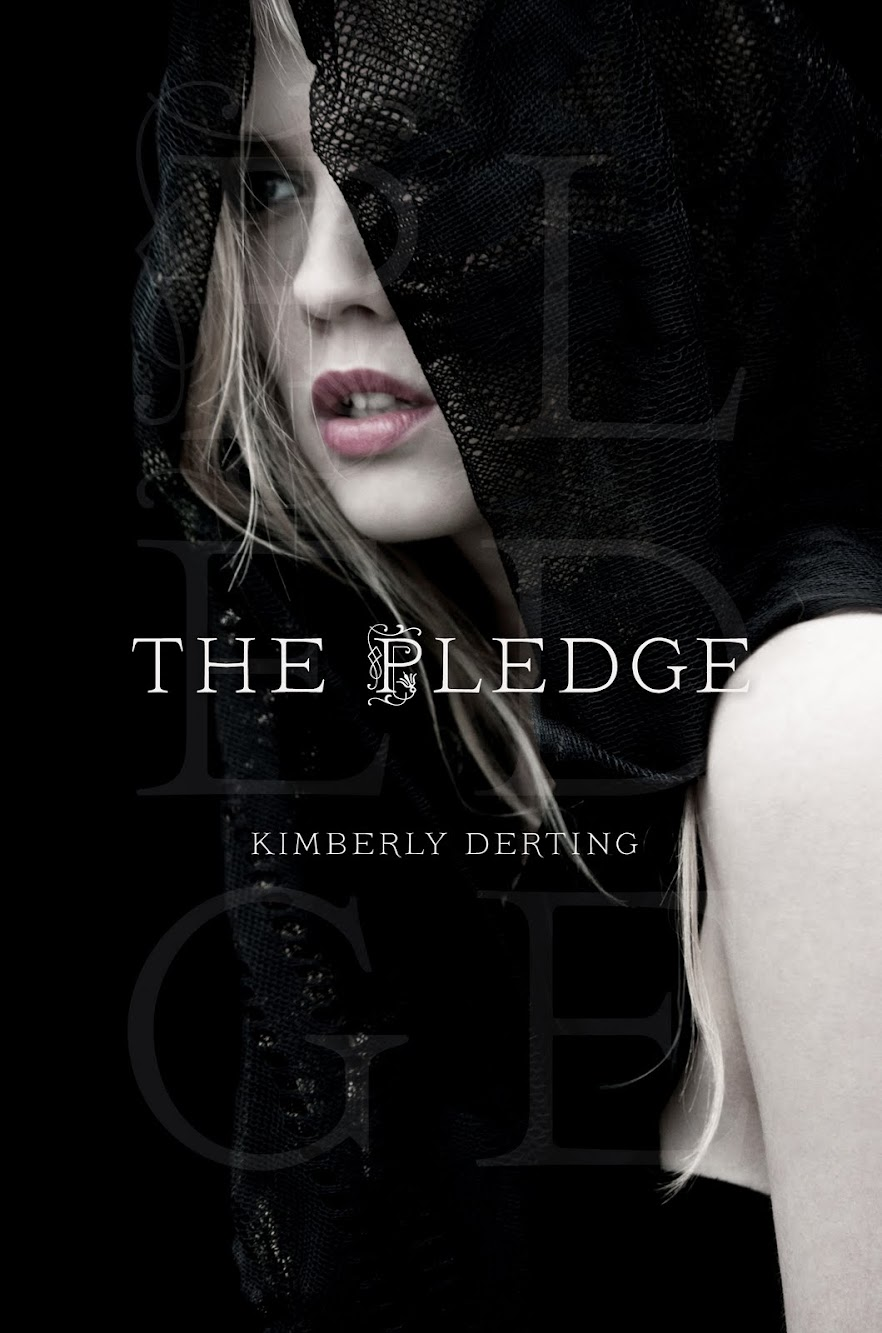 Cover Love: The Pledge by Kimberly Derting