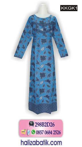 Baju Muslim, Grosir Batik, Baju Wanita, KKGK1