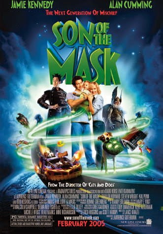 Poster Of Son of the Mask (2005) Full Movie Hindi Dubbed Free Download Watch Online At Alldownloads4u.Com