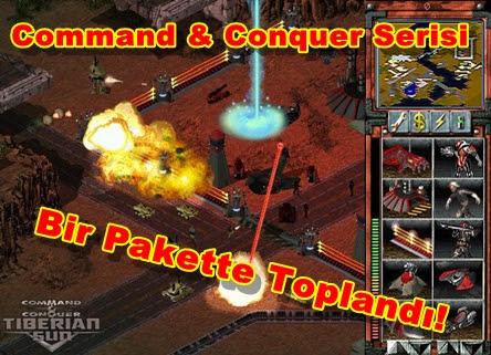 Command & Conquer Serisi Bir Pakette Toplandı