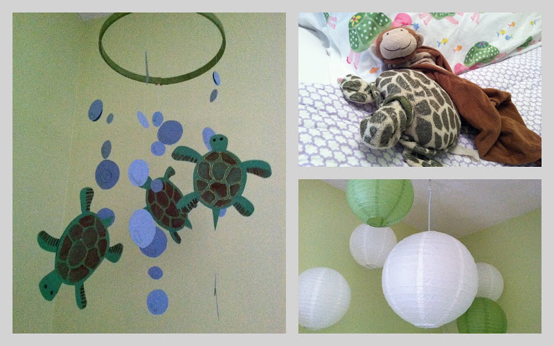 Turtle Decorations For Baby Room