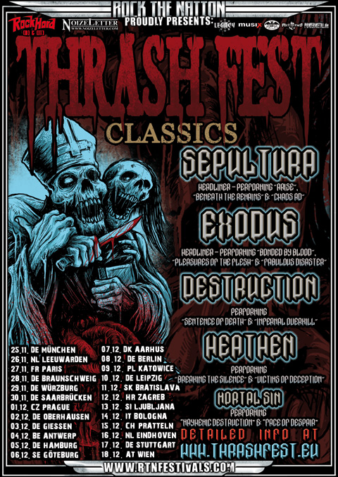 Thrashfest Classics 2011