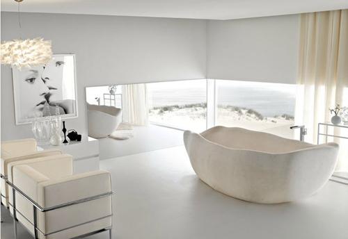 como iluminar el cuarto de baño