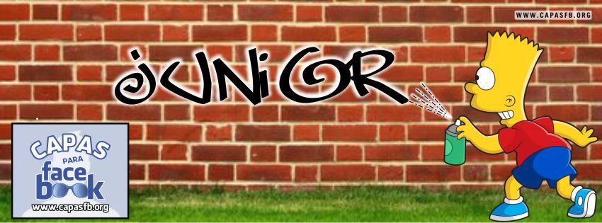 Capas para Facebook Junior