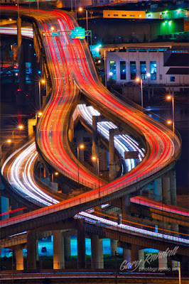 Marquam Bridge, Portland, Oregon