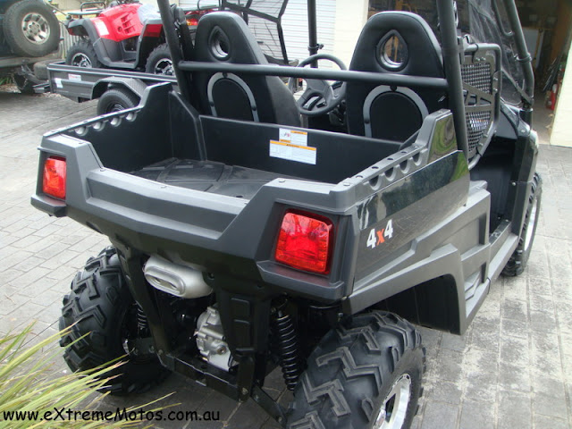 800cc Strike Hisun Side By Side PQV-800 XUV Farm Sports UTV Side by side Black