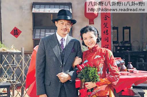 陳茵媺與黃德斌在《天梯》有一段可歌可泣的戀情。