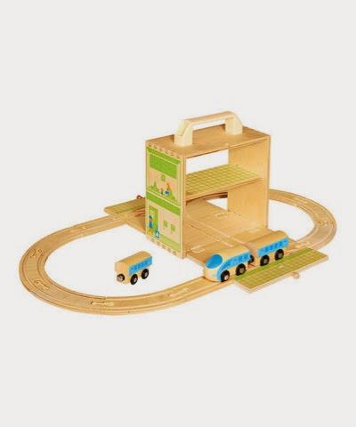 Boxset Train set wooden toy
