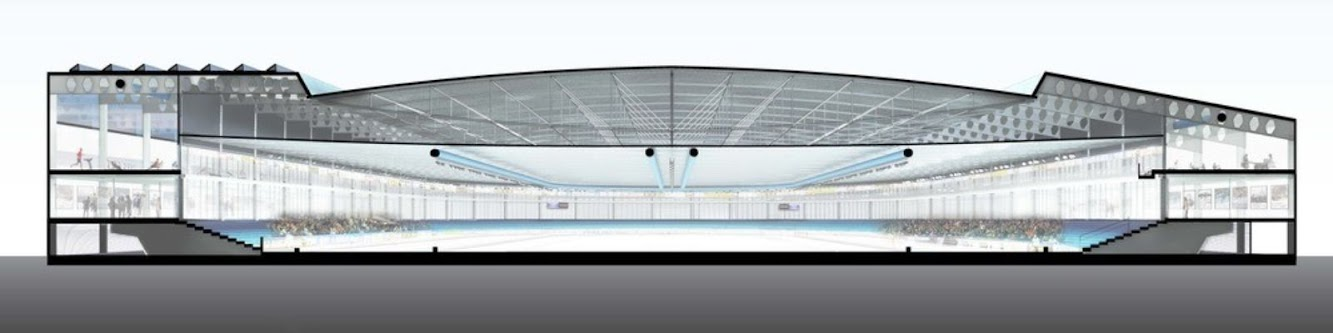 Ballast Nedam renovation of the Thialf arena in