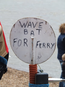 Bat for hailing the ferry