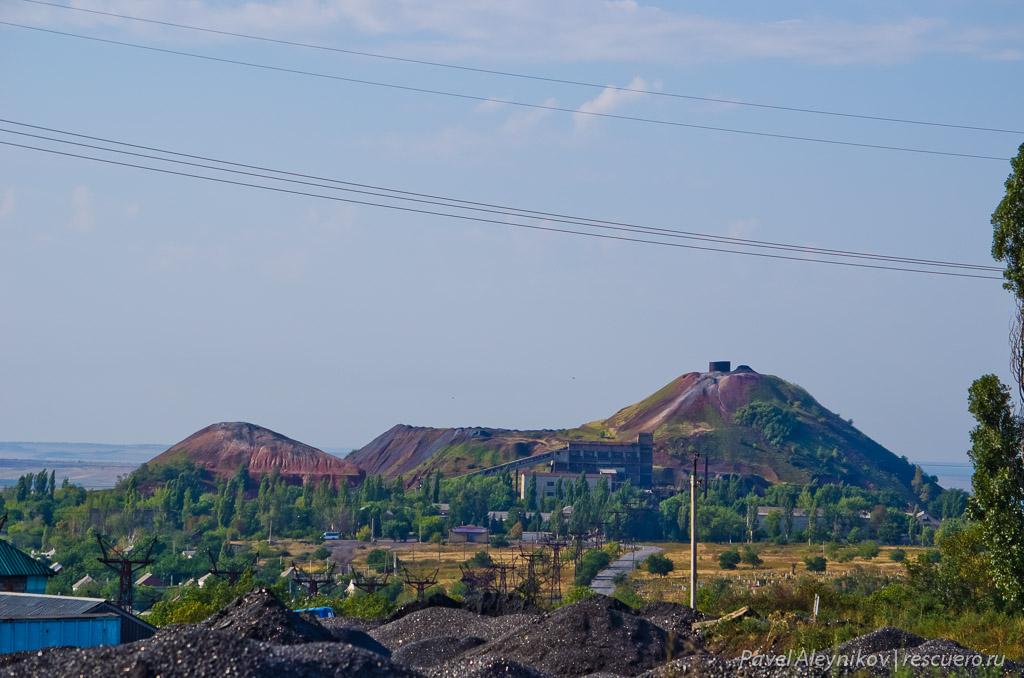 Руины ЦОФ Киселева