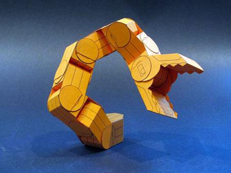 Snakebot Papercraft
