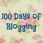 100 Days of Blogging