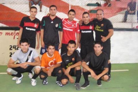 Equipo Panteras en el futbol municipal de segunda fuerza