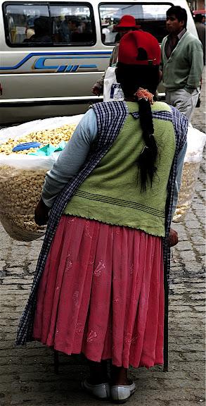 Cholitas comerciantes