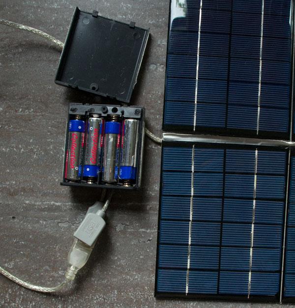 Zobacz temat Mój solar działająca ładowarka słoneczna.