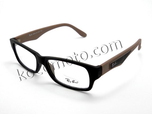 Frame RayBan Plastic (black-brown): Fr-rb-004