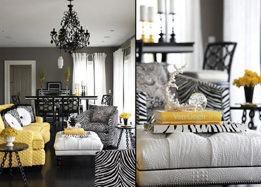 Zebra on pinterest ottomans zebras and animal prints for Living room zebra design
