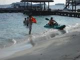 Fasilitas rekreasi pulau Sepa island resort