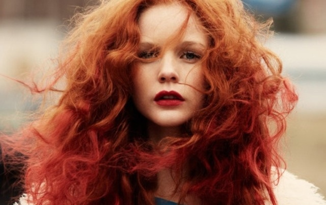 ginger curly hair tumblr - photo #21