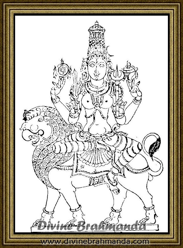 Soundarya Lahari Sloka, Yantra & Goddess To Get Possession Of Mines - 82