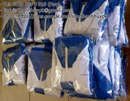áo gió cung cấp cho các trường đại học giá rẻ