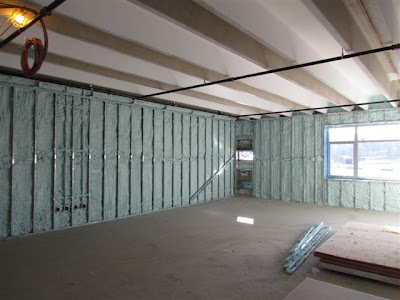 Insulated exterior walls
