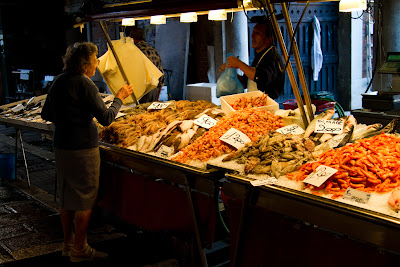 The Fish Markets - Venice, Italy