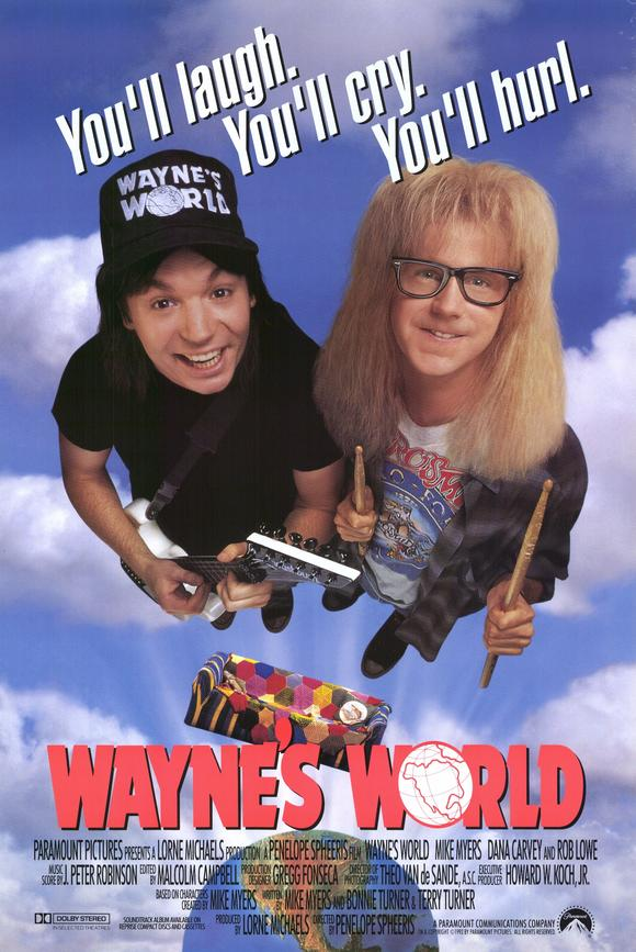 Favorite Movie Series: Crawford Philleo on Wayne's World