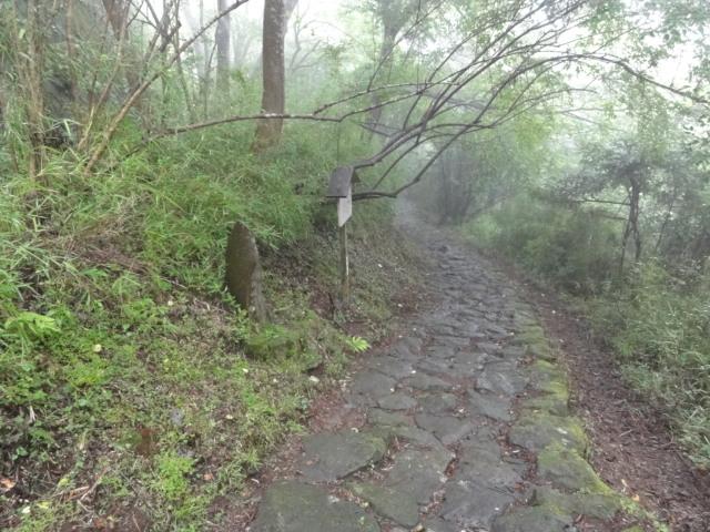 猿滑坂 東海道五十三次