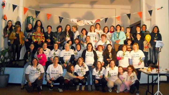 Mulheres da Penajóia comemoraram o dia internacional da mulher