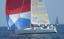 J/109 one-design sailing cruising boat- sailing Verve Cup
