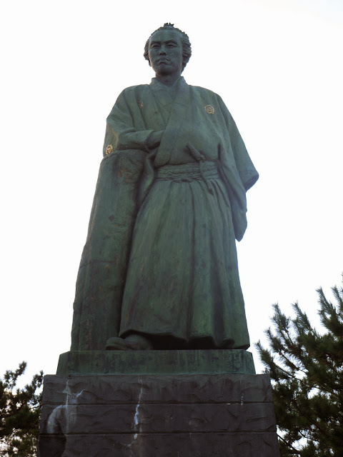 坂本竜馬像(桂浜)