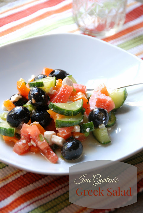 Ina Garten's Greek Salad