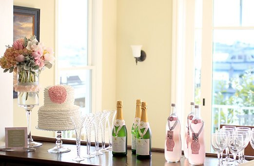 Signature drinks for your wedding coco chanel pink party bar and