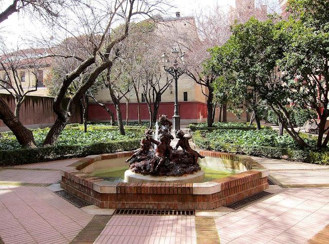 El huerto de las monjas viendo madrid for Jardin querubines