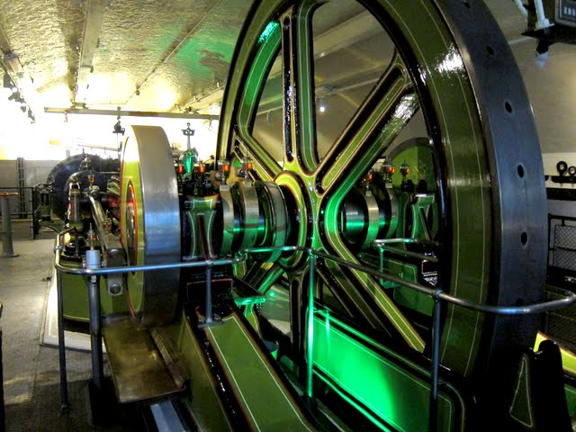 Tour of the steam engines at Tower Bridge in London