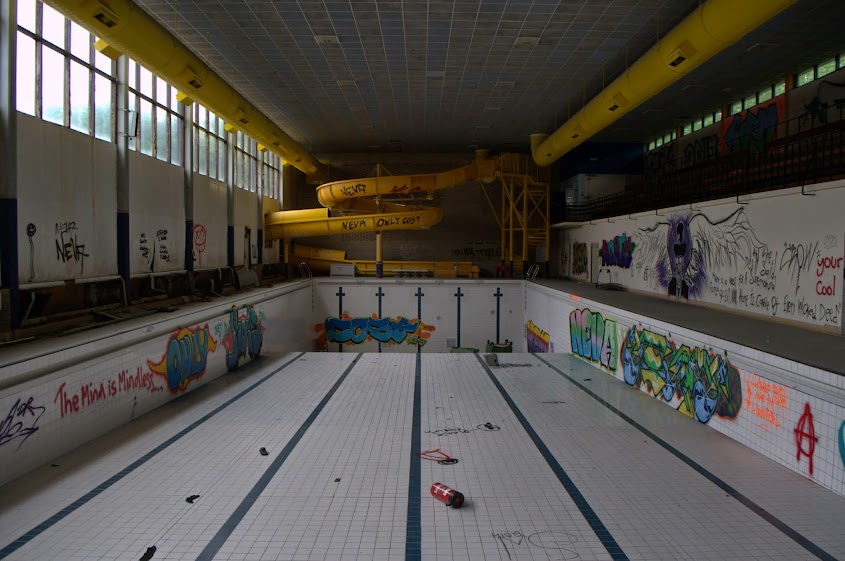 Wigston Swimming Pool Leicester May 14