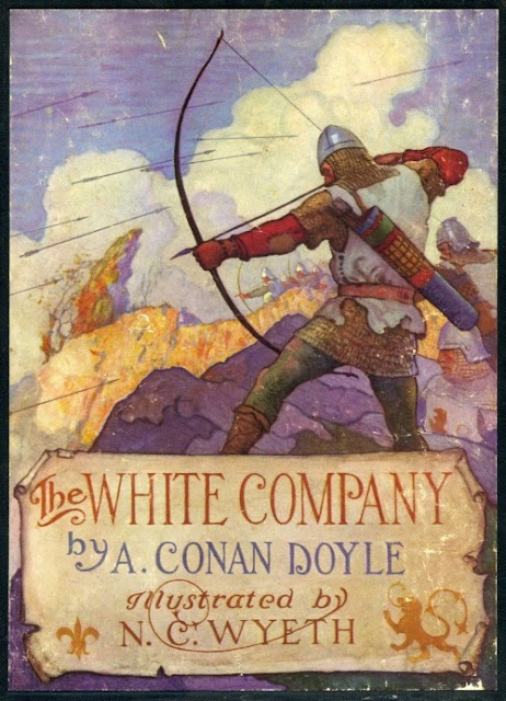 N. C. Wyeth - The White Company by A. Conan Doyle, cover