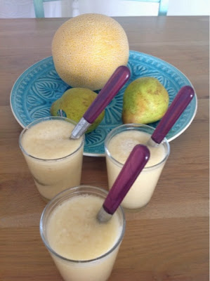 Banaan peer appel Smoothie