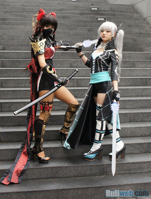 Kiều nữ Miyuko hút hồn với cosplay Cyphers 4