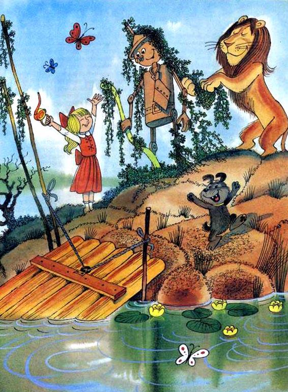 Картинки сказки волшебники изумрудного города 13