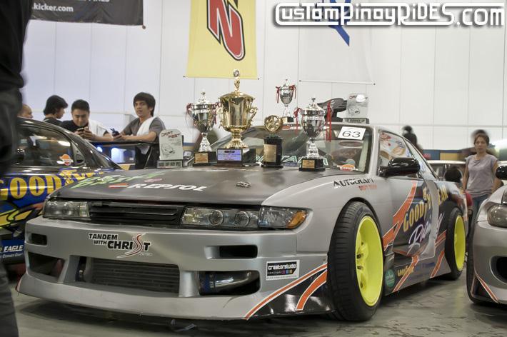 Mexiflush Autocraft Drift Audel Sison 1JZ Nissan S13 Silvia Jawbone Custom Pinoy Rides pic1